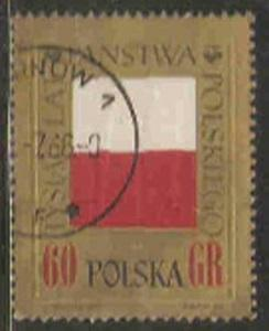 Poland Used Sc 1424 - 1000th anniversary of Poland
