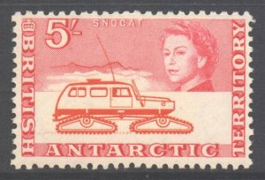 British Antarctic Territory BAT Scott 13 - SG13, 1963 Elizabeth II 5/- MNH**