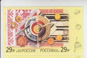 2016 Russia Tea Ceremony Pr (Scott 7784) MNH