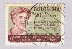 Colombia C462 Used Eleanor Roosevelt 1964 (BP3062)