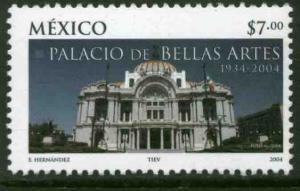 MEXICO 2361, Palace of Fine Arts, Mexico City, 70th Anniv. MINT, NH. F-VF.