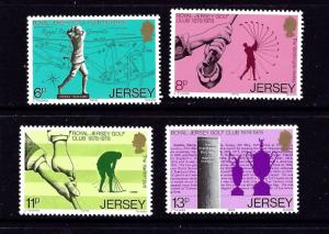 Jersey 183-86 MNH 1978 Golf