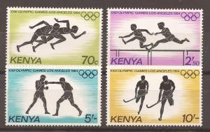 Kenya  #  297 - 300  Mint  N H
