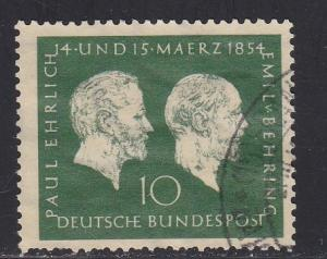 Germany # 722, Medical Researchers, Used, 1/3 Cat