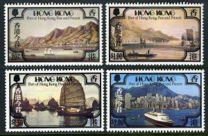 Hong Kong SC#380-383 Port of Hong Kong Past and Present (1982) MNH
