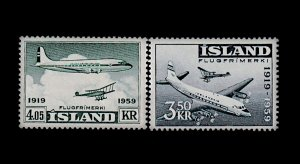 ICELAND C30-C31 MNH