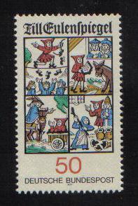 Germany 1977  MNH  Till Eulenspiegel complete