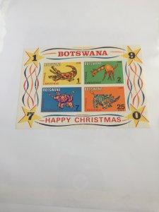 Souvenir Sheet Botswana #70a