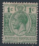 British Honduras SG 111 SC # 85 MLH security overprint see scan and details