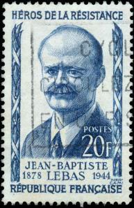 1957 France #826-830, Complete Set (5), Used