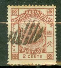North Borneo 27 used CV $10