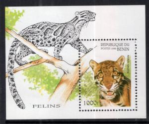 Benin MNH S/S 849 Wild Cats 1996