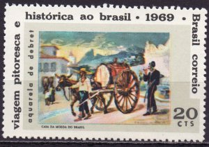 Brazil. 1969. 1234. Painting by Debre. MNH.