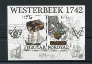 Faroe Islands 2016 MNH Westerbeek Wreck 2v M/S Ships Boats Shipwrecks Stamps
