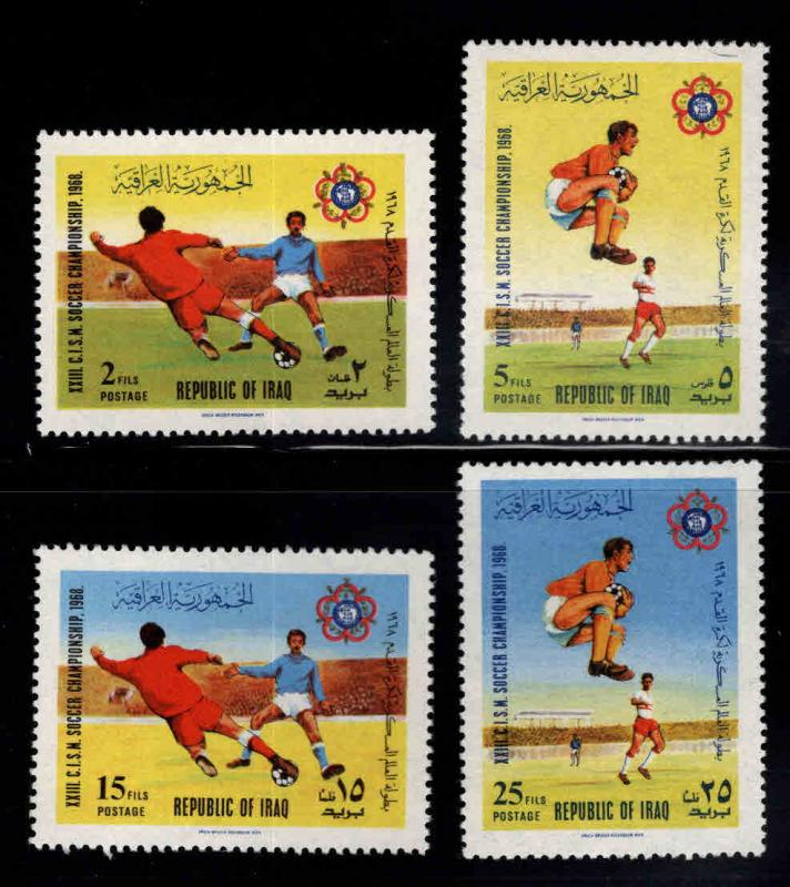 IRAQ Scott 473-476 MH* set