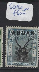 LABUAN (P2307B)  2C   BLUE DEER  SG 90   VFU