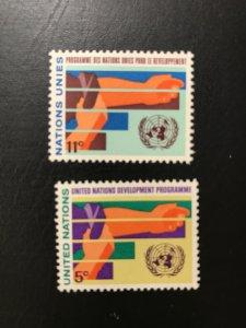 United Nations # 164-165 Mint
