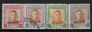 New Zealand 265 - 268 used  2018 SCV $6.50  - - 10664