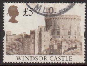 GB Scott 1448 - SG1614, 1992 Castle £5 used