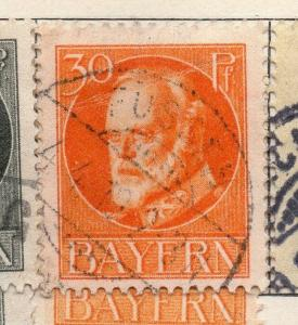 Bavaria 1913 Early Issue Fine Used 30pf. 234005