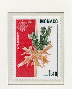 Monaco MNH Scott Cat. # 1278