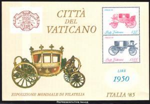 Vatican City Scott 767a Mint never hinged.