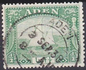 Aden 1 used (1937)