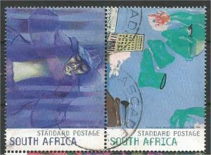 SOUTH AFRICA, 2009, used Std, pair, Constitutional Court Scott