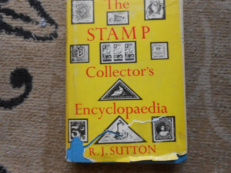 The Stamp Collectors Encylopedia By R J  Sutton  Used  #02