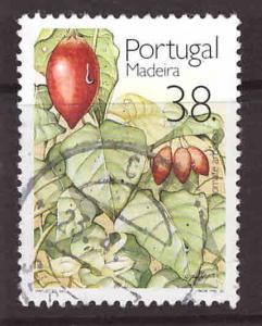 MADEIRA Scott 158 Used tree tomato stamp