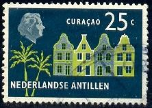 Old Buildings, Curacao, Netherlands Antilles SC#249 used