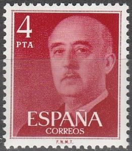 Spain #1852 MNH F-VF (SU4007L)