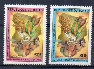 CHAD - 1984 - FOOD SELF SUFFICENCY - AGRICULTURE - FARMING -