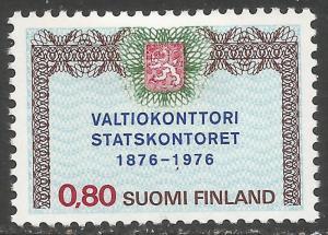 FINLAND 582 MOG Q786