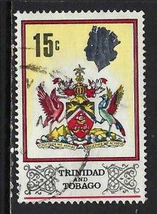 TRINIDAD & TOBAGO 151 VFU ARMS Z2217-11