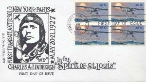 1710 13c CHARLES LINDBERGH - Jack Davis Bl4