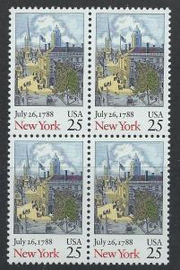 UNITED STATES SC# 2346 VF MNH 1987 BK/4