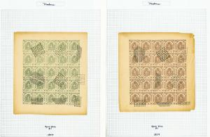 Modena Stamps Classic Series 6x Sheets of 25x w/var 1859 Rare