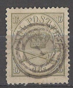 COLLECTION LOT # 5134 DENMARK #15 1864 CV+$175