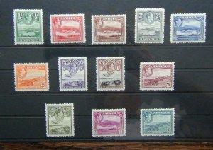 Antigua 1938 - 1951 set to £1 MM SG98 - SG104