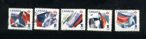 Canada #2300-04  used  VF 2009 PD