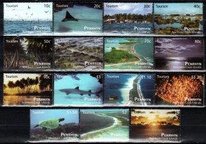 Penrhyn Island #487-501   MNH  CV $23.00 (X193)