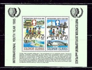 Solomon Is 554a MNH 1985 Int'l Youth Year    (ap2604)