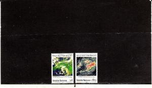 UNITED NATIONS VIENNA *91-92 MNH 2019 SCOTT SPECIALIZED CATALOGUE VALUE $3.10