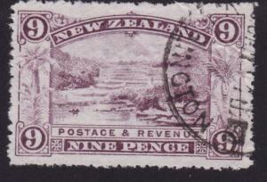 NEW ZEALAND 1898 9d fiscally used.........................................7852