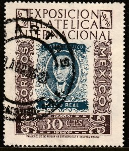 MEXICO 897, 30c Exhibit Cent 1st postage stamps USED.F-VF. (1026)
