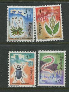 STAMP STATION PERTH Faroe Is.#216-219 Pictorial Definitive Iss.MNH 1991 CV$8.50
