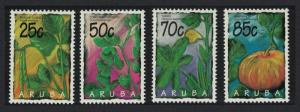 Aruba Vegetables 4v 1995 MNH SG#164-167