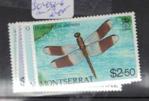 Montserrat Insect SC 493-6 MNH (10dpn)