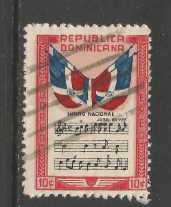 DOMINICAN REPUBLIC C57 VFU MUSIC P299-5